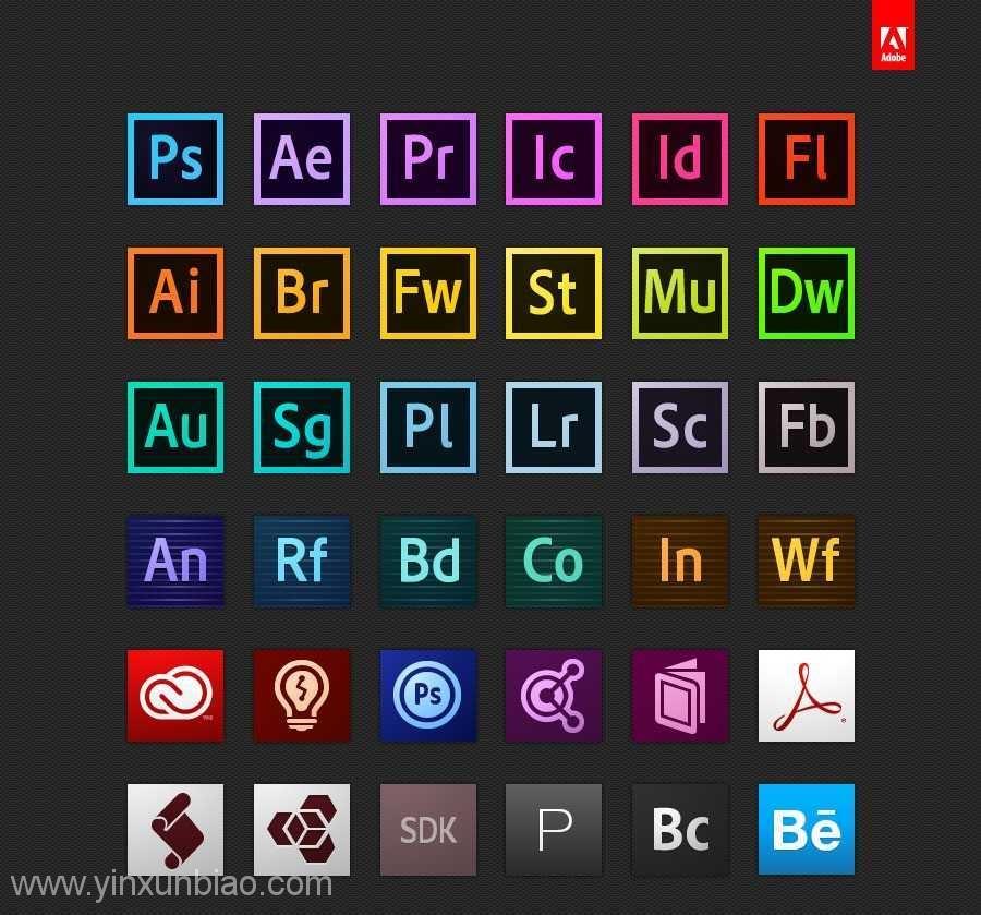 Adobe CC 2015.3中文完整版全系列软件下载